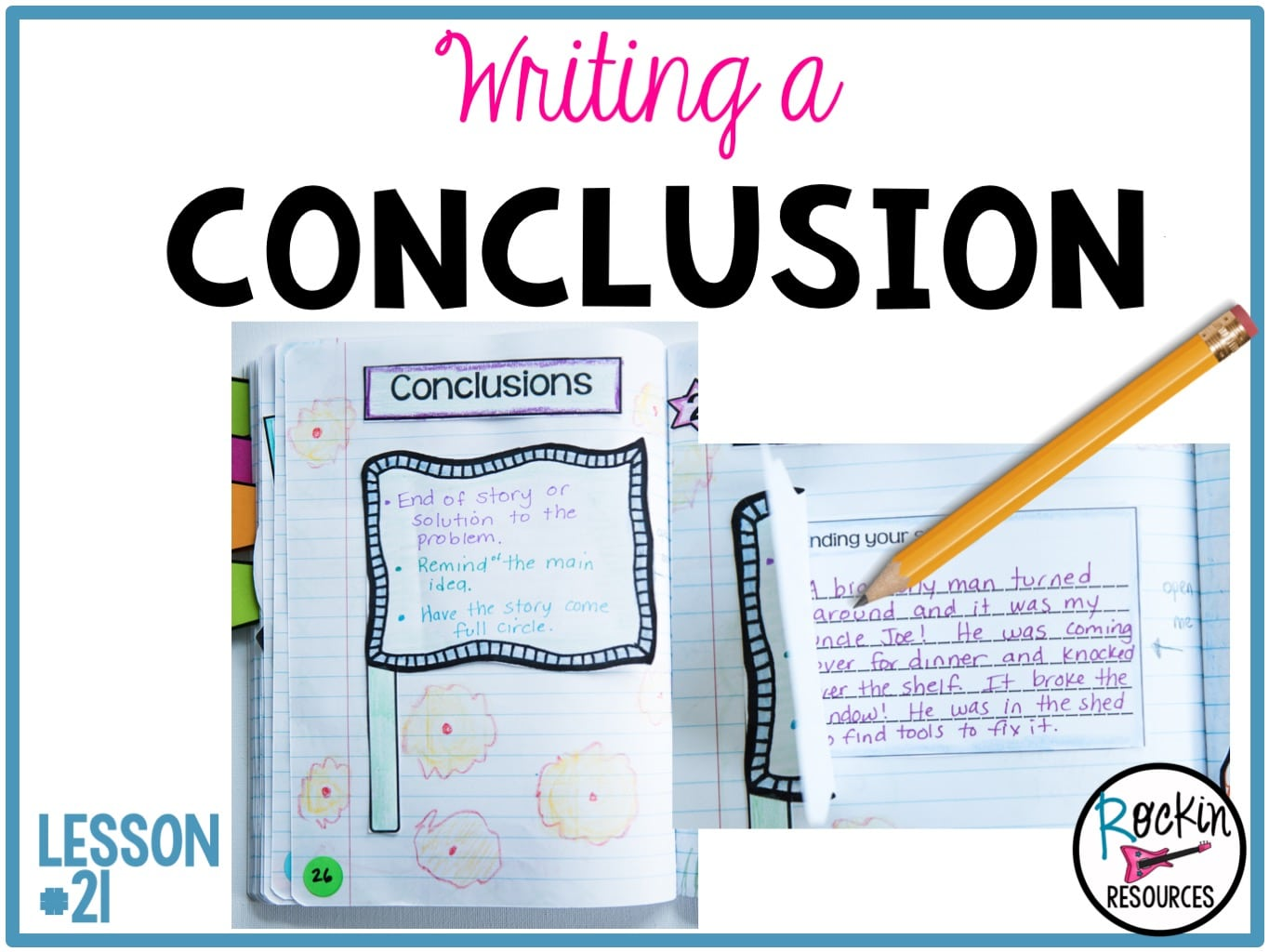 writing mini lesson  21